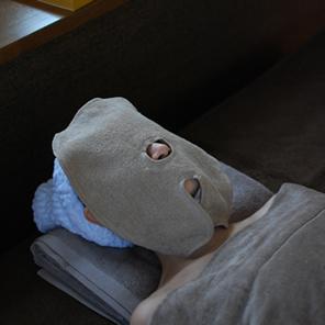 2重タオル生地フェイスマスク